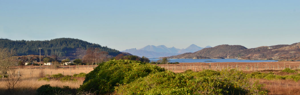 View from Allt Beithe