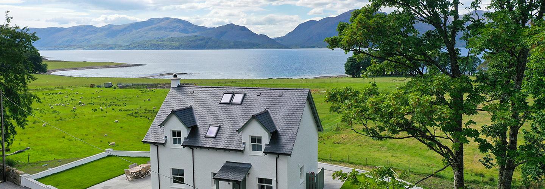 Balbain Ardsheal Estate over Loch Linnhe
