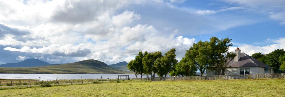 View Across Loch Ruathair