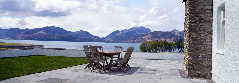 View from Balbain Ardsheal Estate over Loch Linnhe