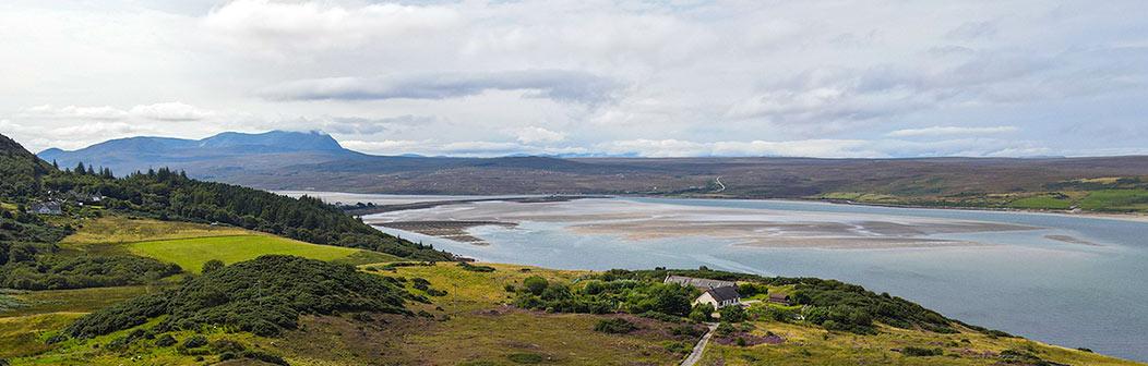 View from Crann Tara