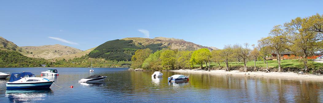 Loch Lomond Lodge banner