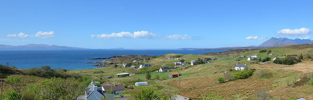 View from Sea Croft Isle of Skye