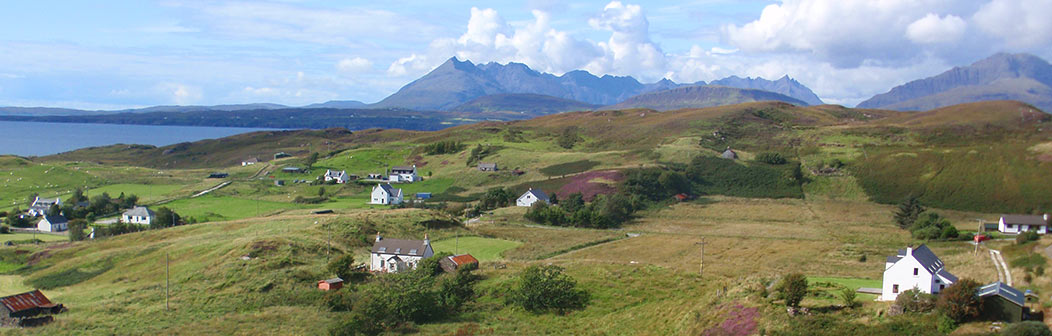 View over Sea Croft Isle of Skye