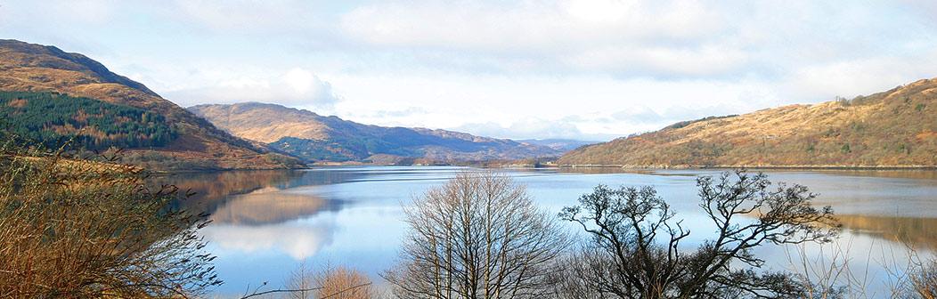 View over Loch Sunart