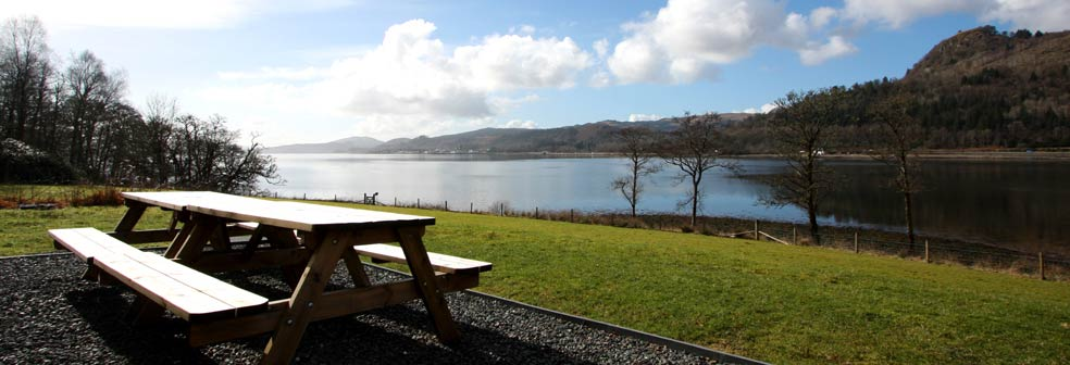 View over Loch Fyne