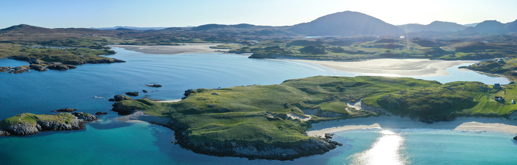 Aerial view - Copyright Richard Davies, MapScotland