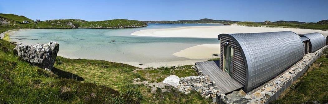 Carnish Cabins, Uig Sands
