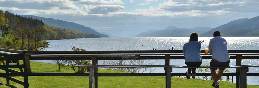 View from Dores Inn
