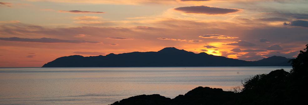 Sunset from Drimnin