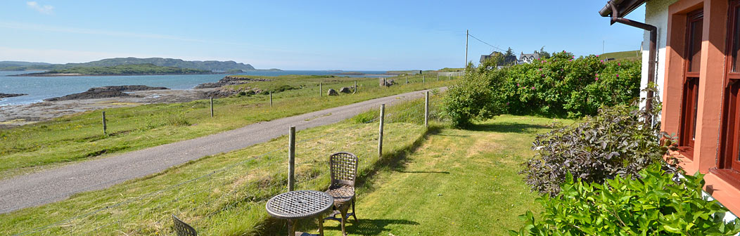 View from Dunmore Cottage