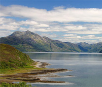 The Shores of Loch Hourn