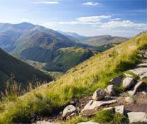 Path up Ben Nevis