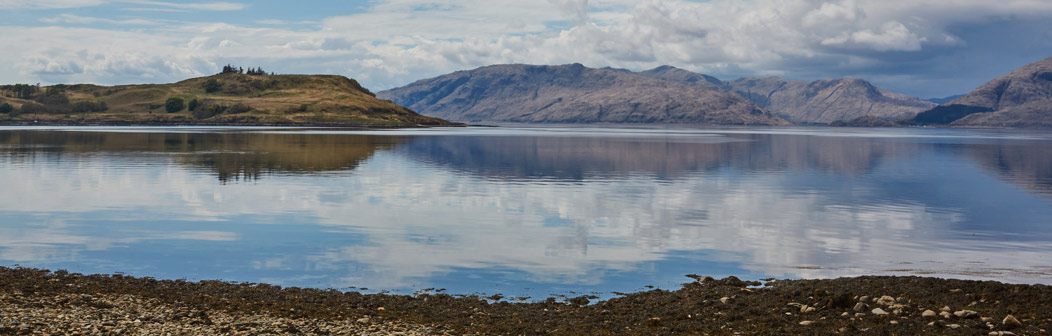 View from Loch shore