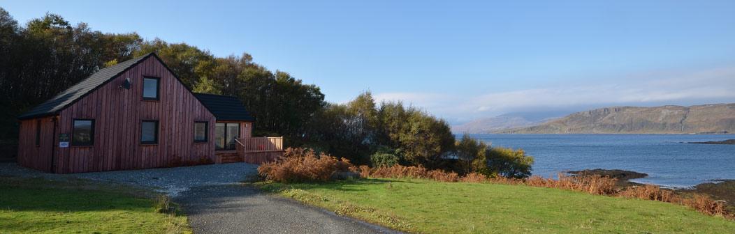 Loch Eishort Cabin