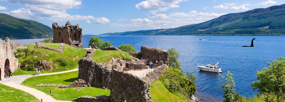 Castle Urquhart & Loch Ness