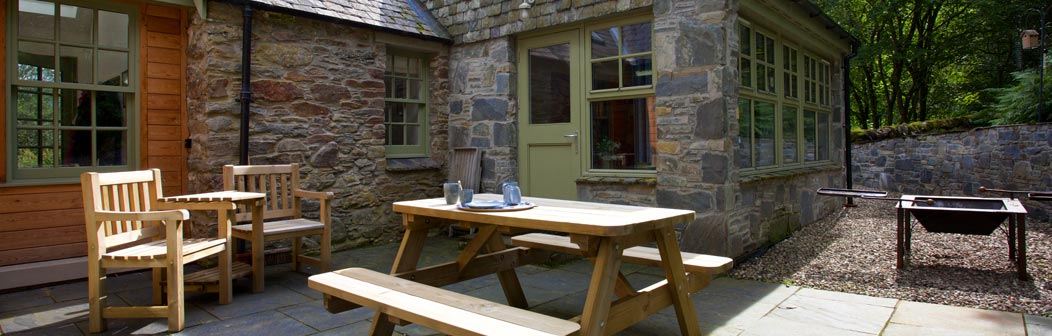 Meadowbank Cottage Patio