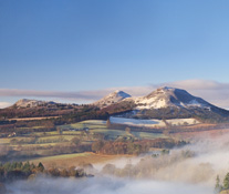 The Eildon Hills