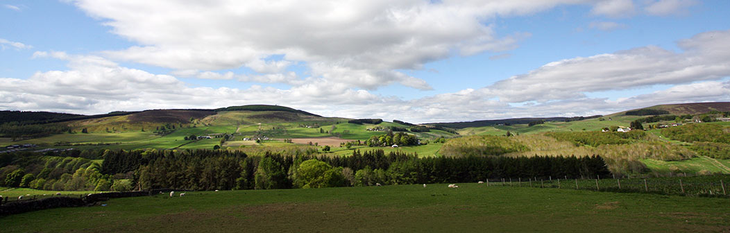 View from Middleton Bothy