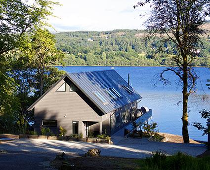 Loch Awe Boathouse