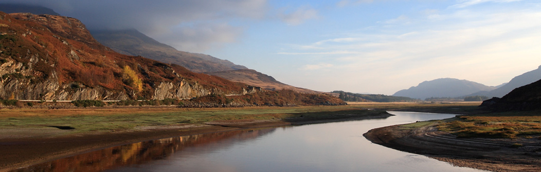 Loch Laggan near Fort William