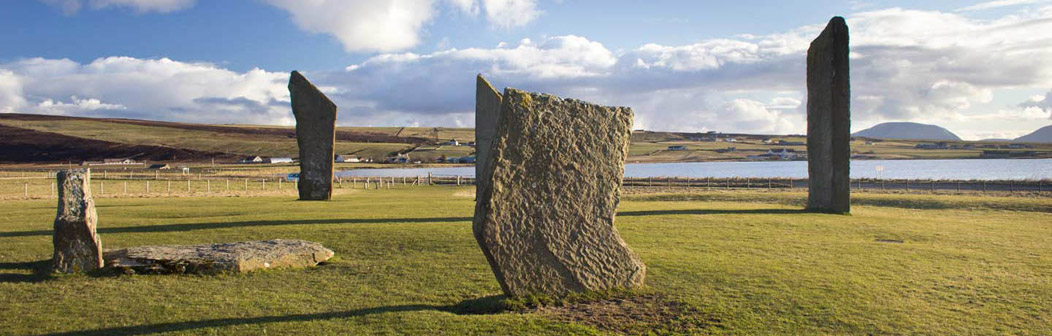 Standing Stones of Stenness on Orkney