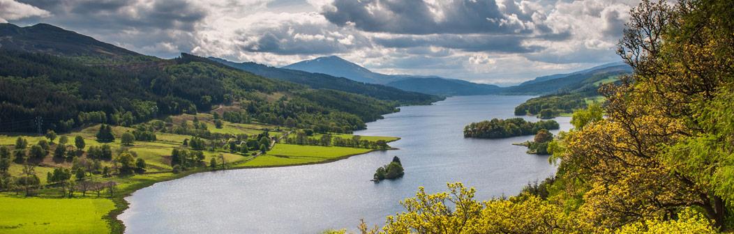 Loch Earn near Comrie