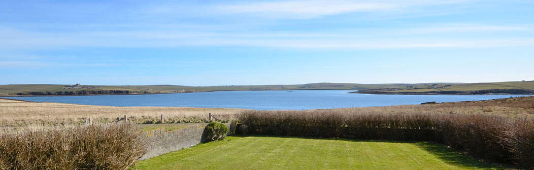 View from Rinibar, Hoxa, Orkney