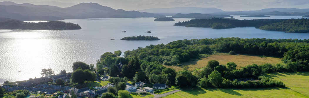 Aerial View of River Cottage