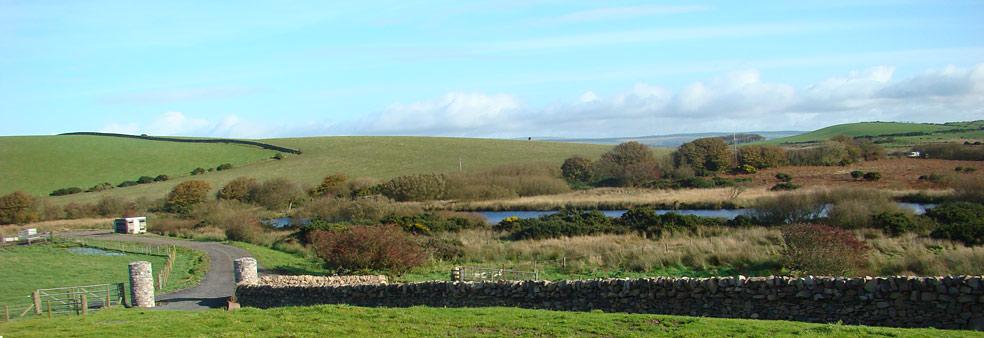 View from South Airies Farmhouse