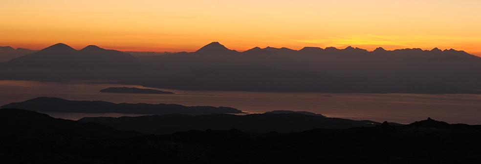 Sunset from Tigh-A-Chreagan