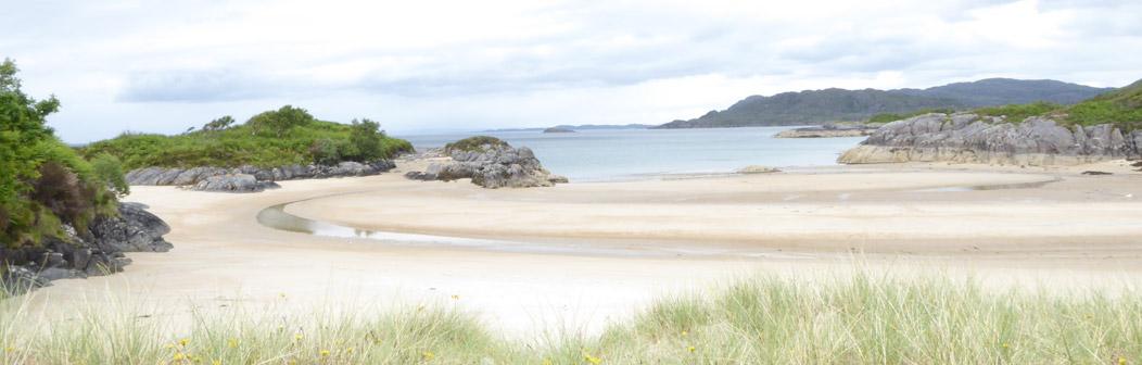 Gorteneorn Singing Sands Beach (9 miles)