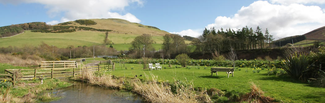 View from Kingfisher Cottage