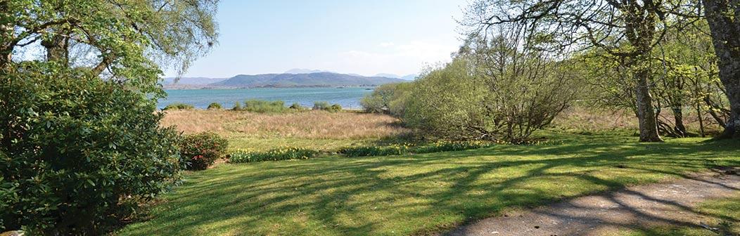 View from Gorteneorn