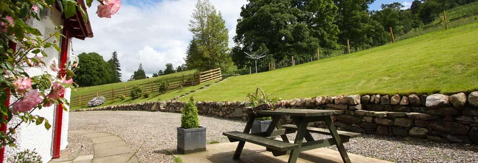 West Lodge back garden