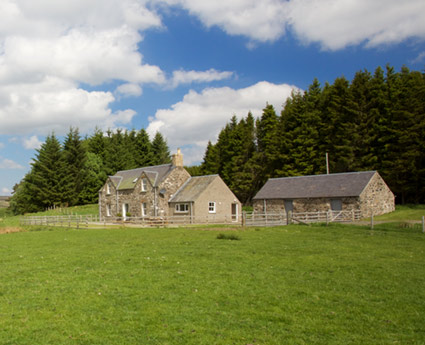 Woodend Cottage at Ashintully